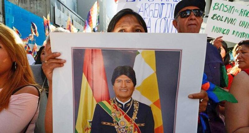 وفای عهد رئیس جمهوری تازه آرژانتین ، مورالس وارد بوینس آیرس شد