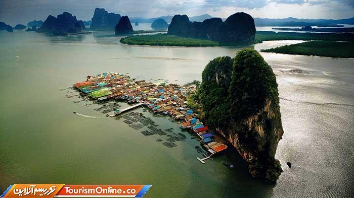 روستای شناور جاذبه توریستی تایلند، تصاویر