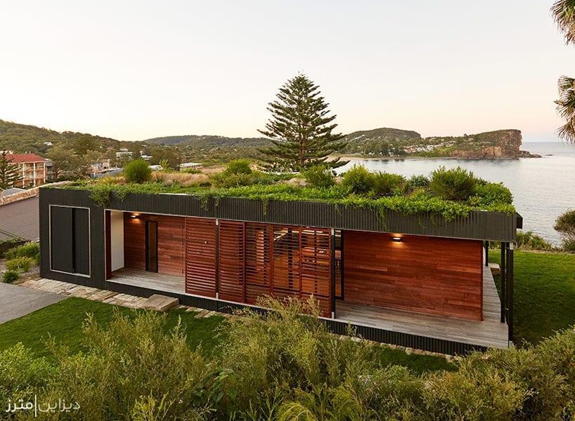طراحی معماری خانه پیش ساخته از گروه Archiblox