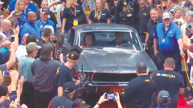 موستانگ بولیت؛ هنرپیشه 3.4 میلیون دلاری