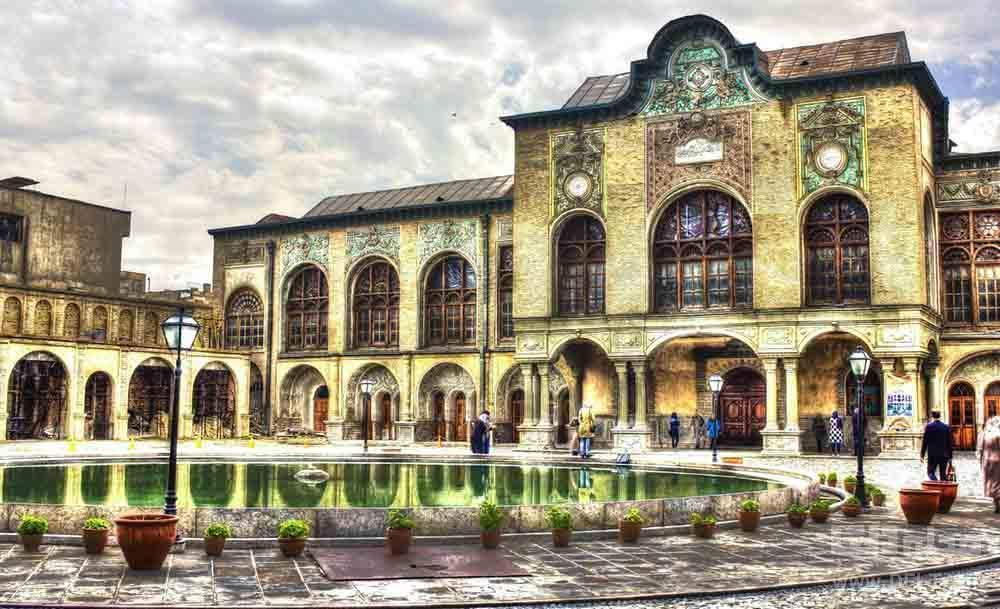 عمارت مسعودیه، هم طراز کاخ های تهران