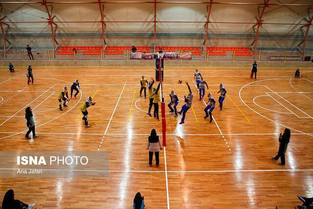 ادامه صدرنشینی سایپا در لیگ والیبال بانوان