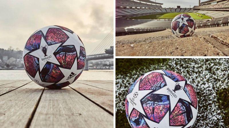 رونمایی از توپ فینال لیگ قهرمانان؛ استانبول 20