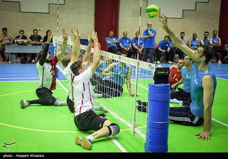 سومین پیروزی تیم والیبال نشسته ایران در اردوی تدارکاتی آلمان