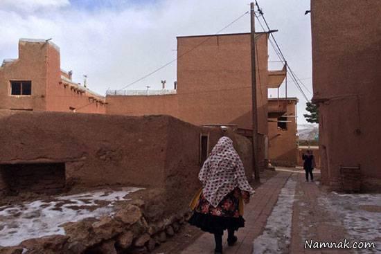 انتقال فرهنگ روستای ابیانه به خانه های تهرانی