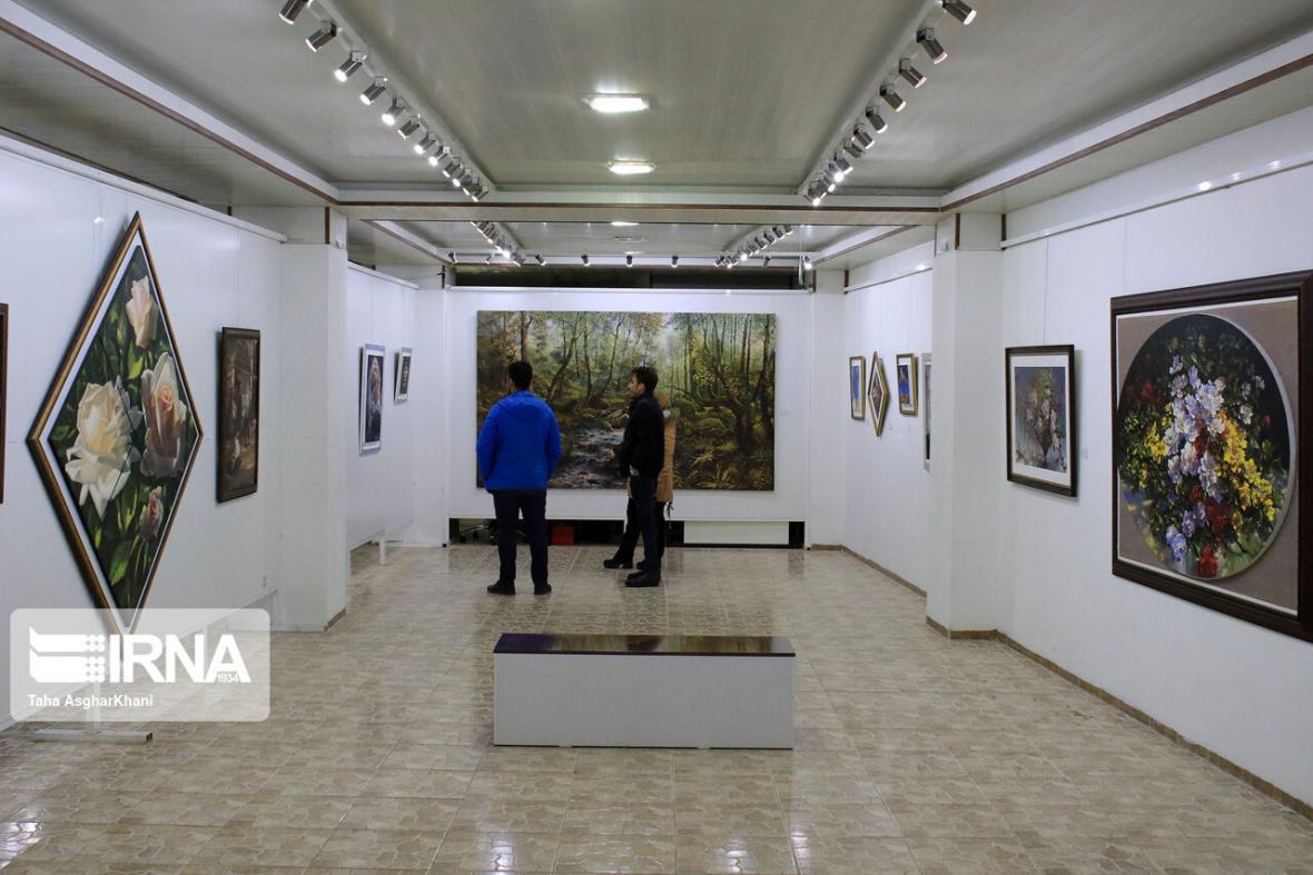 خبرنگاران افتتاح نمایشگاه مشترک نقاشان ایرانی و ترک در استانبول