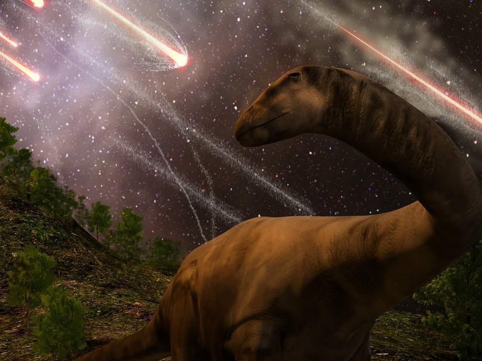 سیاهچاله ها، دایناسورها را منقرض کردند؟