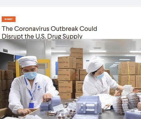 چرا آمریکا نگران کمبود داروهای ضد کرونا است