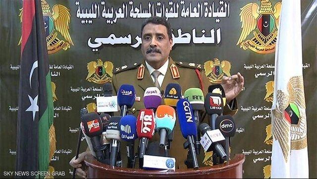 نیروهای خلیفه حفتر: ترکیه هر هفته تا 400 نیرو به لیبی می فرستد، حفتر به سوریه نرفته است