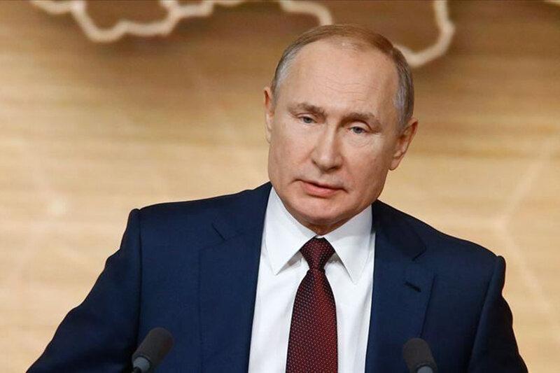 پوتین: کرونا به روسیه هم رسیده است