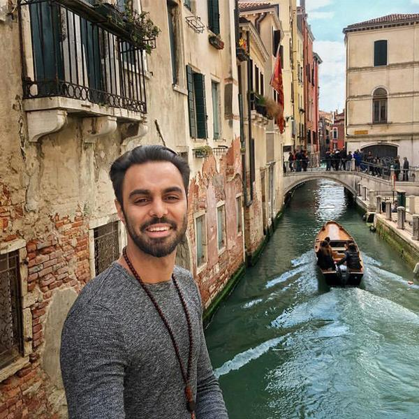 مهدی ماهانی در ونیز ایتالیا!