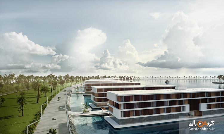16 هتل شناور در خلیج فارس، هتل 4 طبقه با نصف قیمت روی دریا برای اسکان مسافران جام جهانی 2022