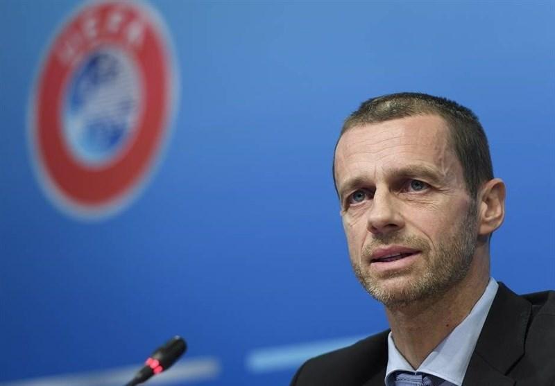 چفرین: یوفا برای به سرانجام رساندن لیگ های فوتبال اروپا ضرب الاجلی معین نکرده است