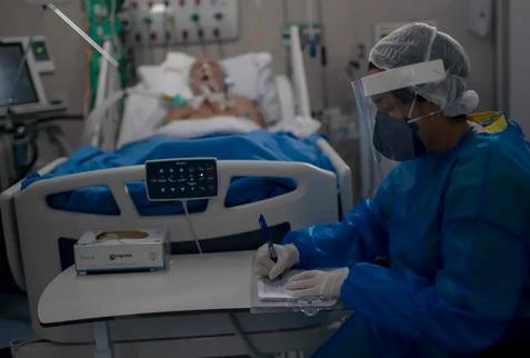 بیمارستان های برزیل به دلیل افزایش مبتلایان به کرونا پر شد