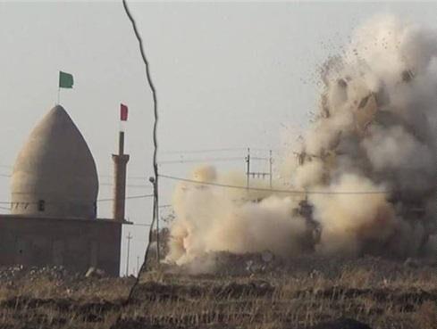 خبرنگاران داعش روستایی در دیاله عراق را گلوله باران کرد