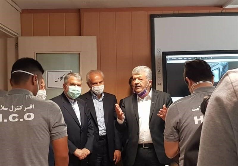 بازدید صالحی امیری از فدراسیون پزشکی ورزشی، افتتاح دوره آموزش آنلاین افسران کنترل سلامت با حضور رئیس کمیته المپیک