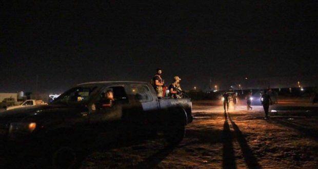 خبرنگاران نیروهای الحشدالشعبی عناصر تروریستی را در سامرا به هلاکت رساندند