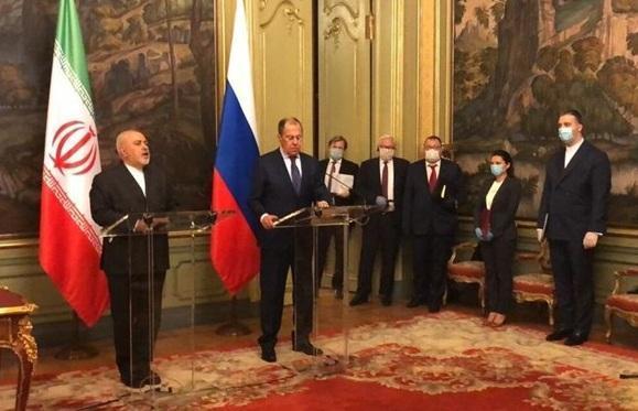 ظریف: مواضع روسیه و چین را در جهت حفظ برجام و ثبات و امنیت می دانیم