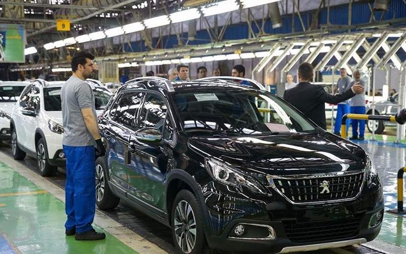 کاهش تولید خودرو در مرداد ، خداحافظی با پژو 2008
