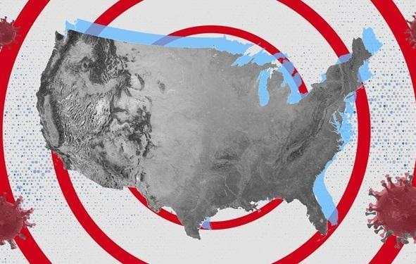 افزایش 44 هزار نفری مبتلایان کرونا در آمریکا ، تلفات از 190 هزار نفر گذشت