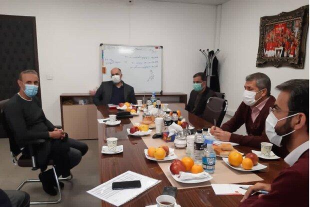 جلسه آسیایی گل محمدی با هیات مدیره باشگاه پرسپولیس