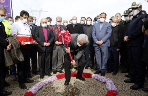 کلنگزنی نخستین مجتمع امداد جادهای کشور در ورزقان