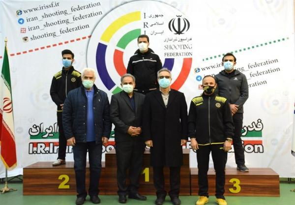قهرمانی هیئت ایلام در مسابقات لیگ برتر تفنگ بادی آقایان