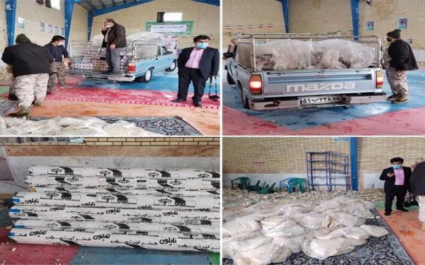 خبرنگاران محموله کمک های اتاق بازرگانی یاسوج به مناطق زلزله زده شهرستان دنا رسید