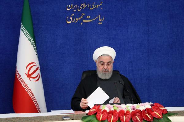 روحانی: یک دیوانه در آمریکا جنگ بی نظیری علیه ایران به راه انداخت