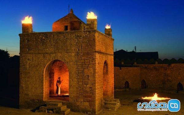 آتشکده سورخانی باکو؛ بنایی دیدنی و تاریخی در همسایگی ایران
