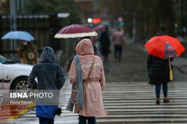 هشدار هواشناسی نسبت به تشدید بارش ها ، وزش باد با سرعت 110 کیلومتر