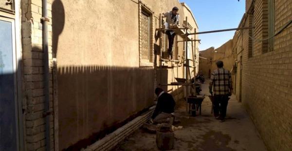 بازسازی و بهسازی معابر محله تاریخی شاه ابوالقاسم یزد