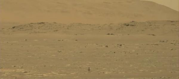 باد مریخی از نگاه دوربین استقامت