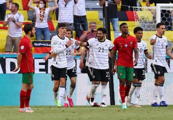 یورو 2020، آلمان با تحقیر پرتغال به جمع مدعیان بازگشت، رونالدو به 2 قدمی دایی رسید