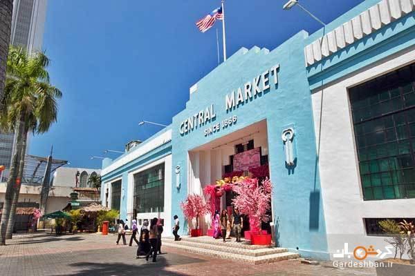 تماشای فرهنگ مالزی در بازار مرکزی کوالالامپور
