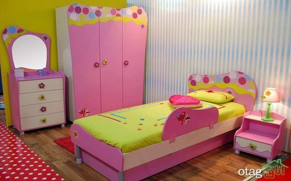 مدل سرویس خواب کودک تازه در نمونه های داخلی و خارجی