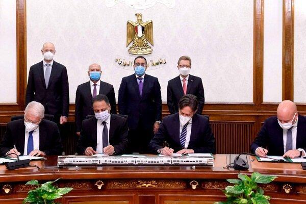 مصر قرارداد ساخت خط آهن با آلمان امضا کرد