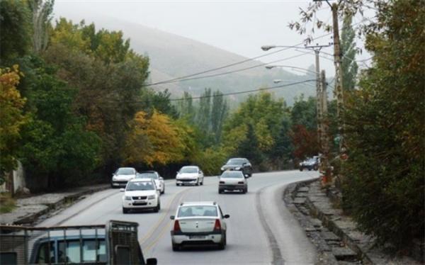 افزایش 5 درصدی تردد در محورهای برون شهری نسبت به دو روز گذشته